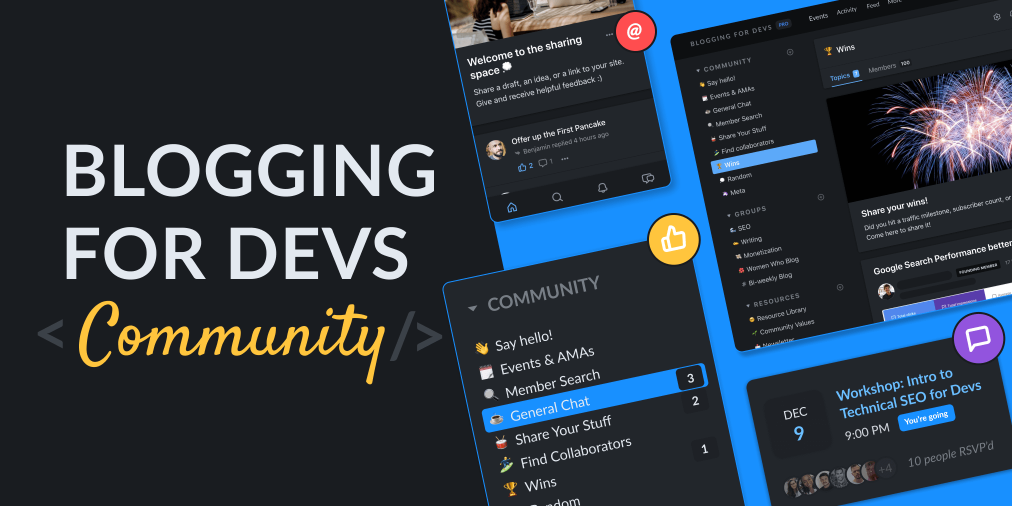 Blogging for Devs Pro Community