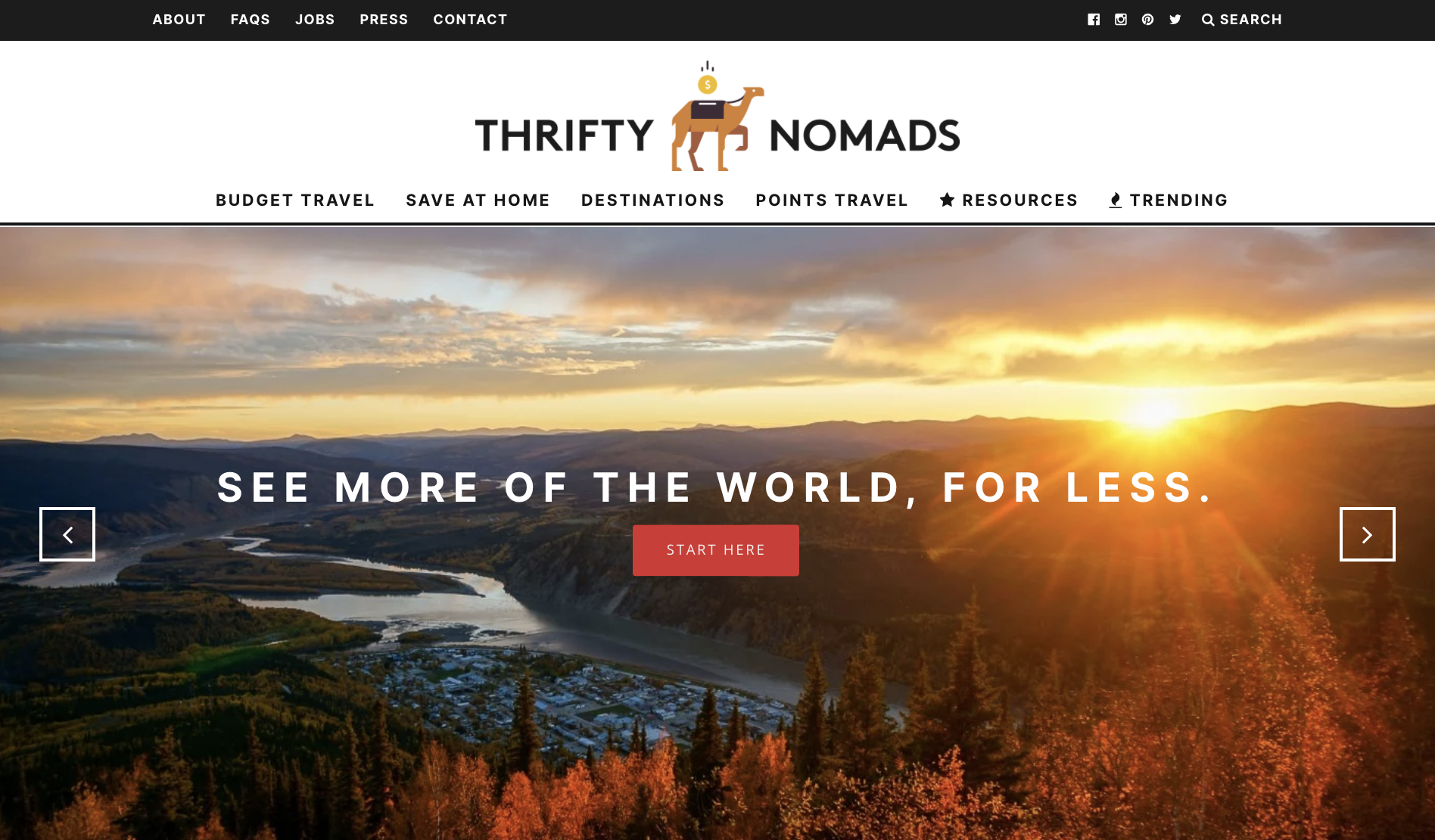 Thrifty Nomads