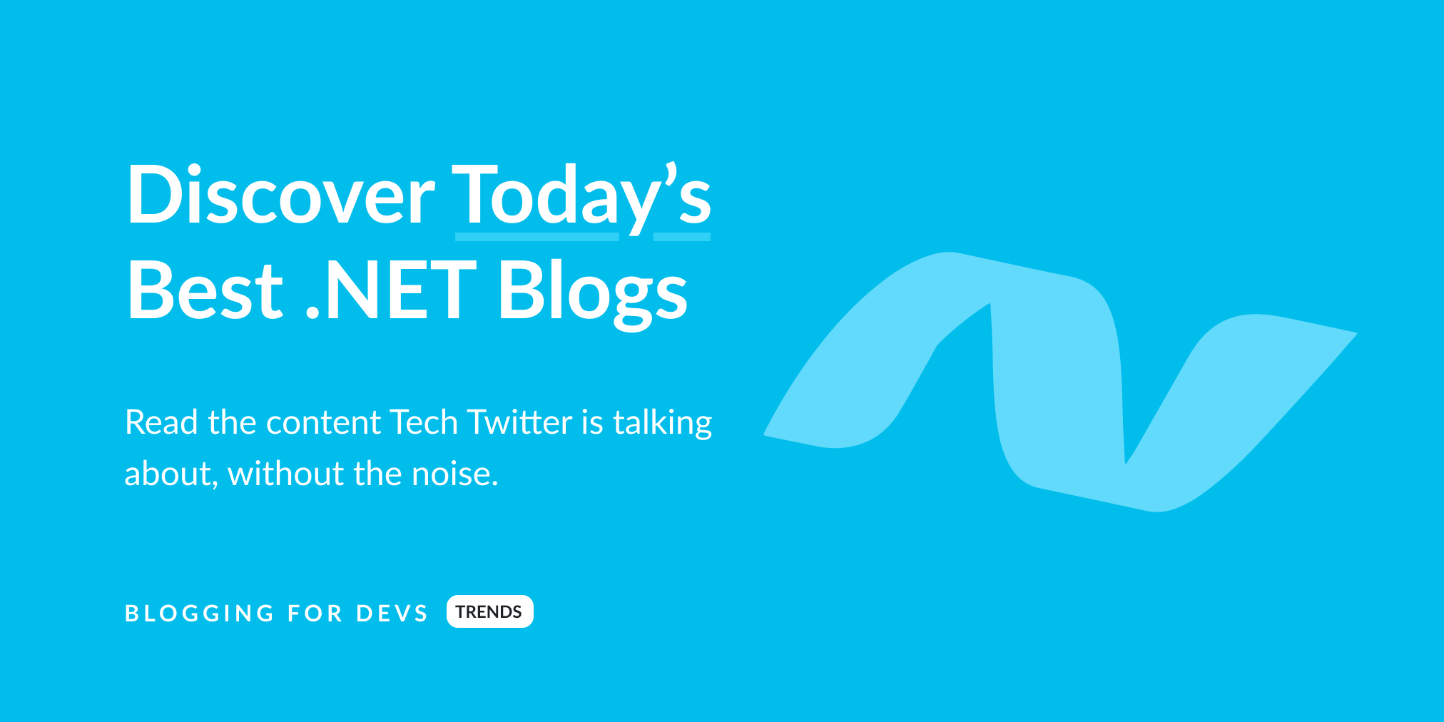 Best .NET Blogs